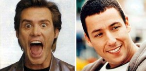 Adam Sandler and Jim Carrey