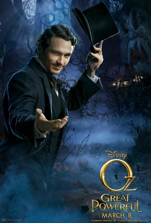 james franco oz the great and the powerful