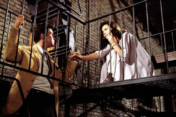 Natalie Wood and Richard Beymer, West Side Story
