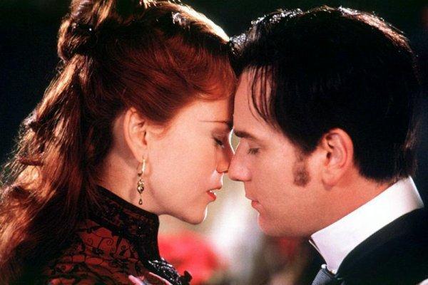 Nicole Kidman and Ewan MacGregor, Moulin Rouge