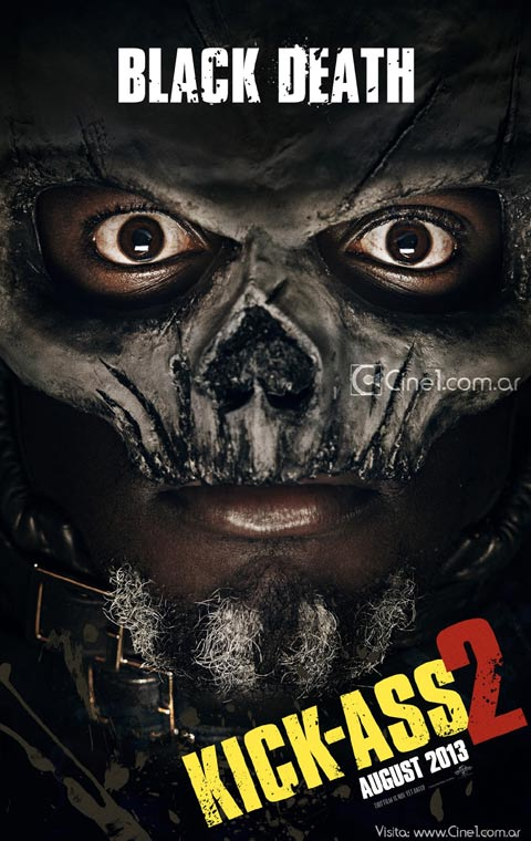 kick ass 2 character posters black death