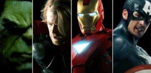 Top Hollywood Male Superheroes